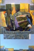 Ouro Sobre Azul | Pintura | 2013