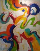 Levitação da memória e do sonho | Pintura | 2011