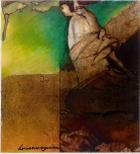 O silêncio melancolico de Icheimei | Pintura | sem data