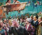 Rescisão de Contrato ou A Passarola | Pintura | 2017