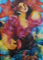 Seduções I   Pintura   2004