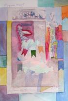 O Pequeno Arraial | Aguarela | 2000