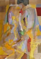 Os Anjos de Jacob | Aguarela | 2000