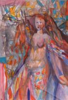 Nú Pintado | Aguarela | 2000