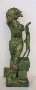 A mulher cavalo | Escultura | sem data