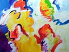 série _ Da coloratura multi-direccionalmente expansiva  | Pintura | 2010