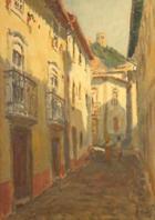 Leiria - Rua da Misericórdia | Pintura | sem data