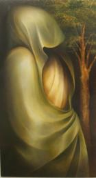 A mulher e a árvore | Pintura | 2005