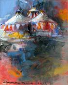O circo   Pintura   2012