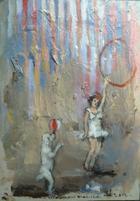 Ensaio Geral II   Pintura   2012