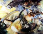 Alfarrobeira - Interregno nas Descobertas   Pintura   2000