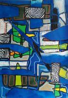 Blue Zebra | Pintura | 2016